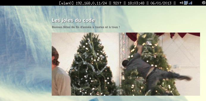 Conky - Les joies du code